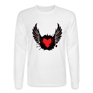 Tribal WingedHeart Long sleeve - Men's Long Sleeve T-Shirt