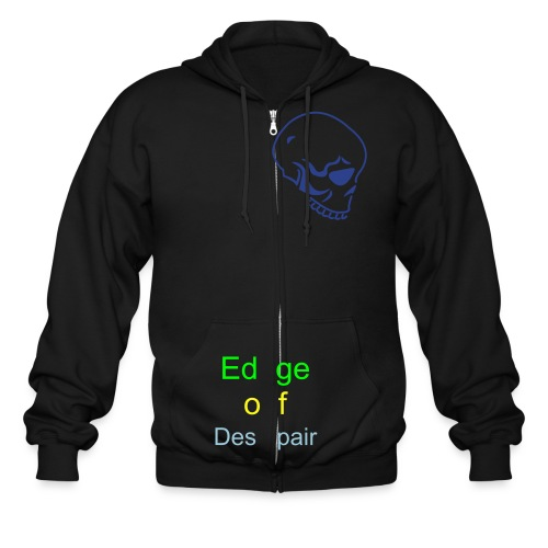 edge zip-up - Men's Zip Hoodie