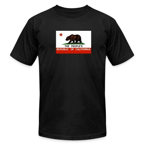 People's Republic of California Flag - Men's Fine Jersey T-Shirt