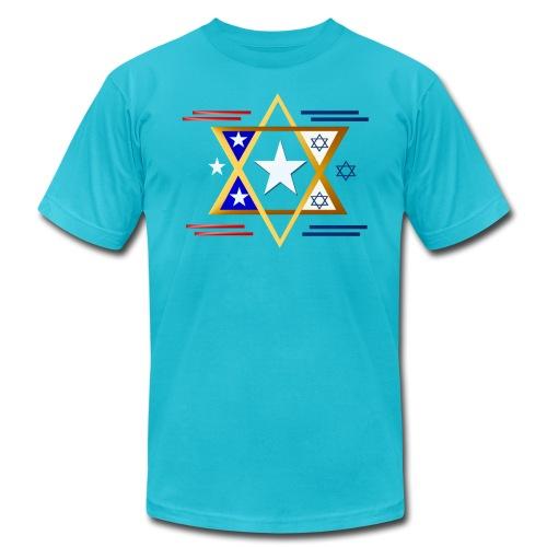 America-Israel - Men's Fine Jersey T-Shirt