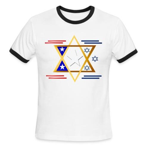 America-Israel - Men's Ringer T-Shirt