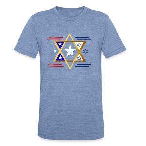 America-Israel - Unisex Tri-Blend T-Shirt