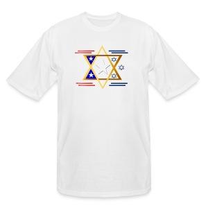 America-Israel - Men's Tall T-Shirt