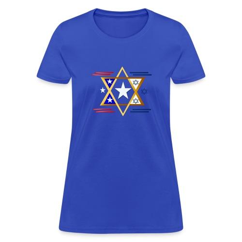 America-Israel - Women's T-Shirt