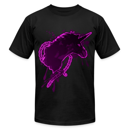 Ghetto Ass Unicorns - Men's Fine Jersey T-Shirt