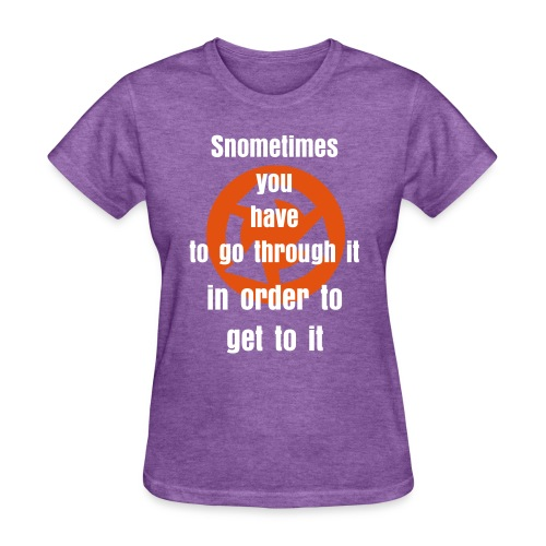 GO GET IT - Women's T-Shirt