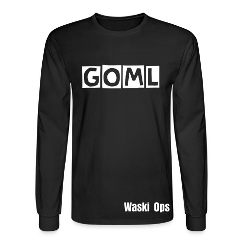 Get On My Level - Long Sleeve - Men's Long Sleeve T-Shirt