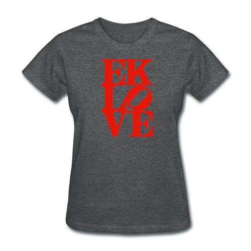 EK LOVE (all red) Women's Tee - Women's T-Shirt