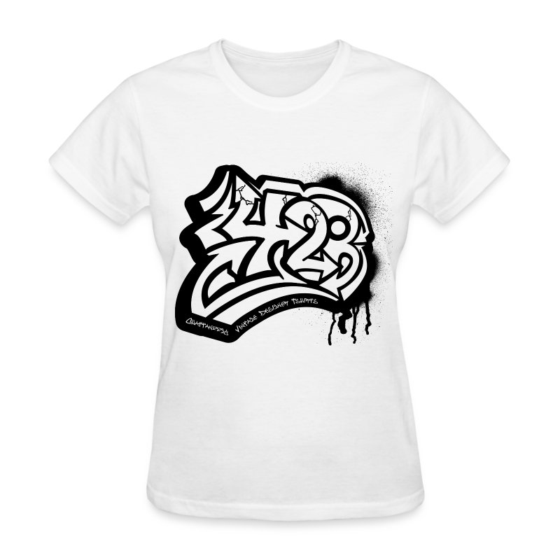 423 White women - Women's T-Shirt