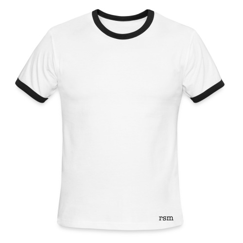 Men's Ringer T-Shirt 'rsm' - Men's Ringer T-Shirt