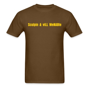Sculpin & viLL WeNABle - Men's T-Shirt