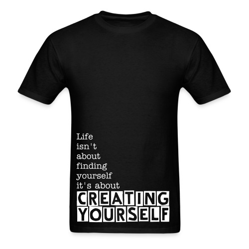 Creating yourself - Men's T-Shirt