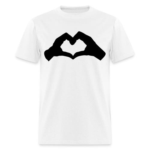 Hand heart - Men's T-Shirt