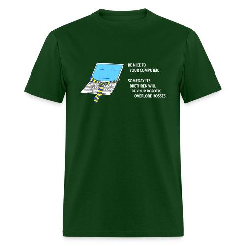 Computer Overlords - Men's T-Shirt