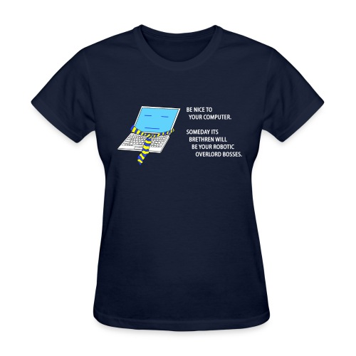 Computer Overlords (Ladies) - Women's T-Shirt