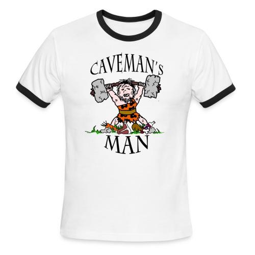 Caveman's Man Ringer T-Shirt - Men's Ringer T-Shirt