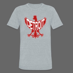 Polish Wings - Unisex Tri-Blend T-Shirt by American Apparel