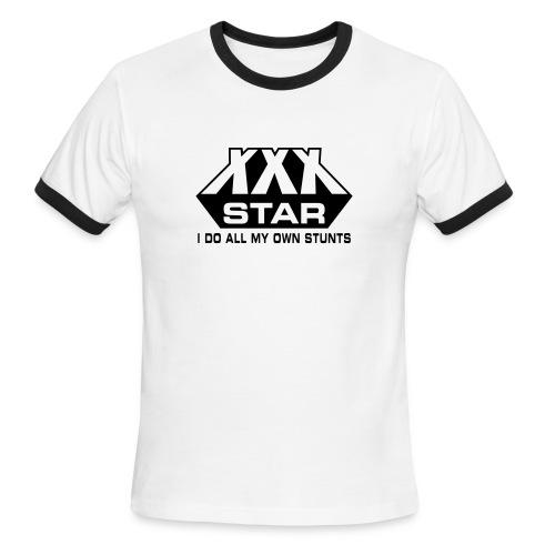 XXX Star - Men's Ringer T-Shirt