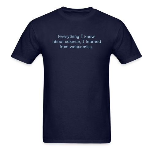 Science Webcomics - Men's T-Shirt