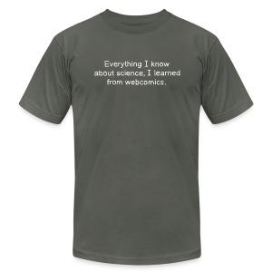 Science Webcomics - Men's Fine Jersey T-Shirt