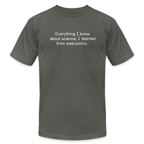 Science Webcomics - Men's Fine Jersey T-Shirt