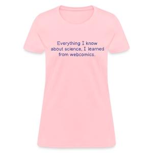 Science Webcomics - Women's T-Shirt