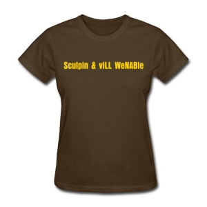 Sculpin & viLL WeNABle - Women's T-Shirt