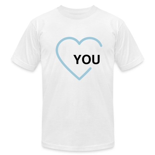 Heart YOU - Men's  Jersey T-Shirt