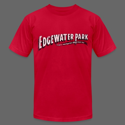 Old Edgewater Park - Men's Fine Jersey T-Shirt