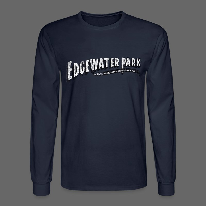 Old Edgewater Park - Men's Long Sleeve T-Shirt