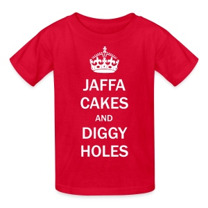 Kids Tee: Jaffa Cakes/Diggy Holes - Kids' T-Shirt