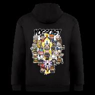Zip Hoodies & Jackets ~ Men's Zip Hoodie ~ Mens Zip Hoodie: SoI Pixel Art