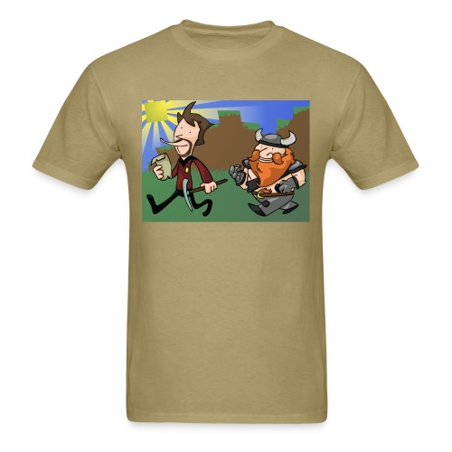 Mens Tee: Adventure! - Men's T-Shirt