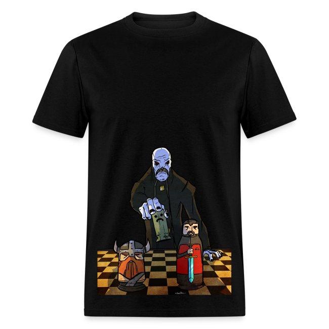 Mens Tee: Chess