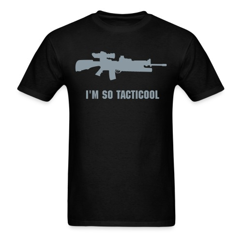 I'm so tacticool AR15 - Men's T-Shirt