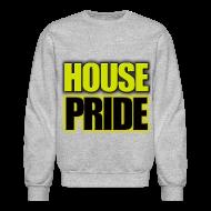 Long Sleeve Shirts ~ Men's Crewneck Sweatshirt ~ House Pride Hufflepuff SWEATER