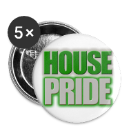 Buttons ~ Small Buttons ~ House Pride Slytherin
