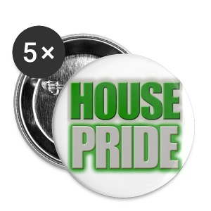 House Pride Slytherin - Small Buttons