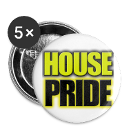 Buttons ~ Small Buttons ~ House Pride Hufflepuff