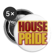 Buttons ~ Small Buttons ~ House Pride Gryffindor