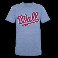 T-Shirts ~ Unisex Tri-Blend T-Shirt ~ Great Wall of DC - John Wall