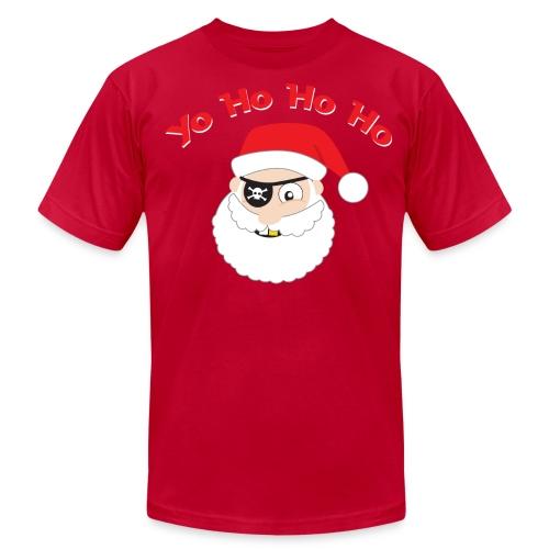 Pirate Santa, Yo Ho Ho Ho T-shirt - Men's Fine Jersey T-Shirt