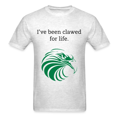 Clawed For Life - Men's T-Shirt