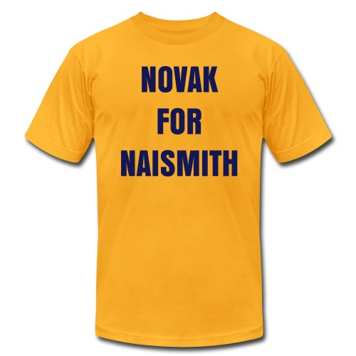 Novak for Naismith - Men's Fine Jersey T-Shirt
