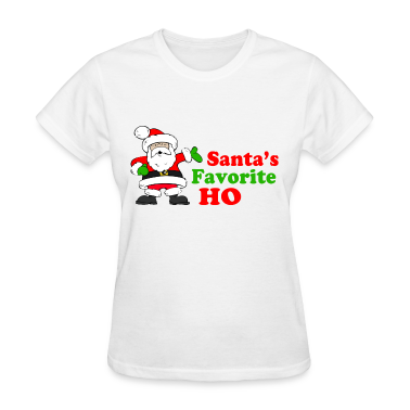 Santa's Favorite Ho! Women's T-Shirts