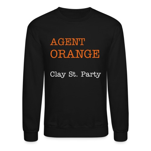 Agent Orange Crew - Crewneck Sweatshirt