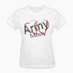 army mom Women's T-Shirts