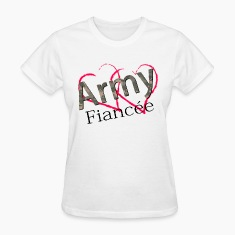 army fiancee Women's T-Shirts