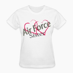 air force sister Women's T-Shirts