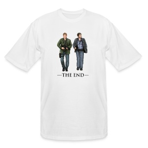 The End (DESIGN BY BRITTANY) - Men's Tall T-Shirt